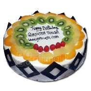 send online Fresh Fruit and Chocolate Cake