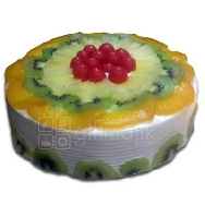 Temptation of Fresh Taste Delicious Fresh Fruits Cake