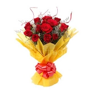 Buy15 Fresh Red Roses Bunch